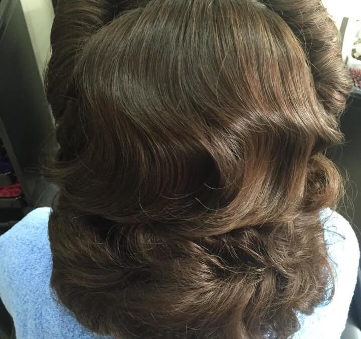 Our efforts to re-create 1940's Hair & Nails
